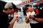 Die berühmten Hot-Dogs von Martinsville