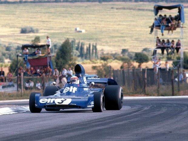 Jackie Stewart 1973 in Kyalami