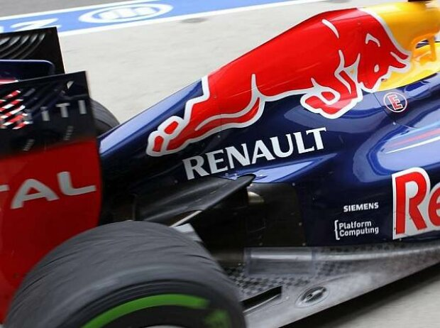 Sebastian Vettel, Auspuff, RB8, Red Bull