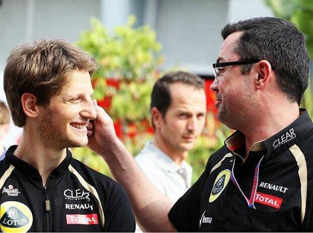 Romain Grosjean, Eric Boullier