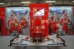 Felipe Massa und Fernando Alonso (Ferrari)