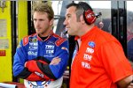 Scott Speed und Crewchief Wally Rogers