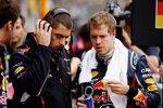 Renningenieur Guillaume Rocquelin Sebastian Vettel (Red Bull)