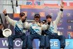 Yvan Muller (Chevrolet), Robert Huff (Chevrolet), Alain Menu (Chevrolet)