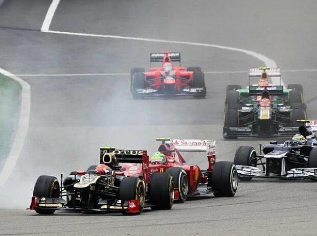 Romain Grosjean, Felipe Massa