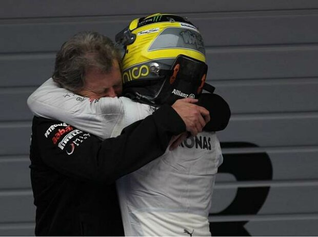 Norbert Haug, Nico Rosberg