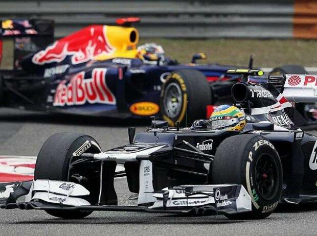 Bruno Senna, Sebastian Vettel