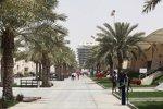 An der Strecke in Sakhir, außerhalb Bahrains Hauptstadt Manama gelegen, herrscht Ruhe.