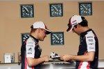 Valtteri Bottas (Williams) und Bruno Senna (Williams)