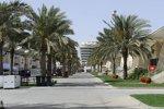 Ferrari-Hospitality-Gebäude im Paddock von Bahrain