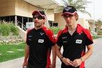 Timo Glock (Marussia) und Charles Pic (Marussia)