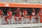 Ferrari-Kommandostand