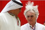Bernie Ecclestone (Formel-1-Chef): Nun hat der Formel-1-Boss angesichts des Rennens in Bahrain doch etwas Gegenwind...
