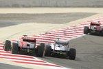 Daniel Ricciardo (Toro Rosso) und Pastor Maldonado (Williams)