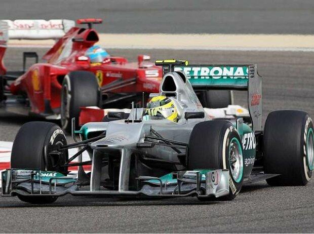 Nico Rosberg, Fernando Alonso