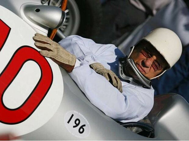 Stirling Moss in Goodwood 2006