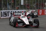 Ryan Briscoe vor Will Power (Penske)