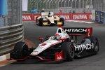 Ryan Briscoe (Penske) vor Ryan Hunter-Reay (Andretti)