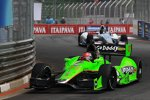 James Hinchcliffe (Andretti) vor Josef Newgarden (Fisher)