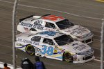 David Gilliland (Front Row) und Reed Sorenson (FAS)