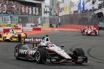 Will Power (Penske) vor Ryan Hunter-Reay (Andretti) und Scott Dixon (Ganassi)