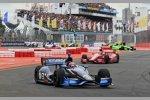 Rubens Barrichello vor Tony Kanaan (KV)