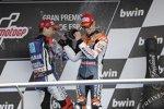 Casey Stoner (Honda) Jorge Lorenzo (Yamaha)