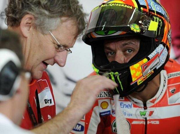 Jeremy Burgess, Valentino Rossi