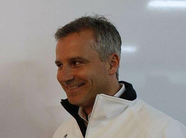 Joey Hand, Jens Marquardt (BMW Motorsport Direktor)