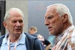 Helmut Marko (Motorsportchef) Dietrich Mateschitz (Red Bull-Boss)