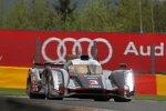 Romain Dumas, Loic Duval und Marc Gene (Audi)