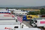Blick ins Fahrerlager am Hungaroring