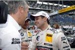 Jens Marquardt (BMW Motorsport Direktor) Bruno Spengler (Schnitzer) Augusto Farfus (BMW Team RBM)