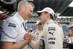 Jens Marquardt (BMW Motorsport Direktor) Augusto Farfus (BMW Team RBM)