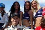 Tiago Monteiro (Tuenti) mit den WTCC-Girls