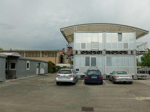Toro-Rosso-Fabrik in Faenza