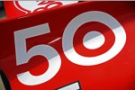 Dario Franchitti (Ganassi) und die Startnummer 50