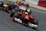 Felipe Massa (Ferrari) Mark Webber (Red Bull)