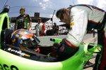 James Hinchcliffe und Marco Andretti (Andretti)