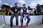 Michael Andretti und Marco Andretti (Andretti)