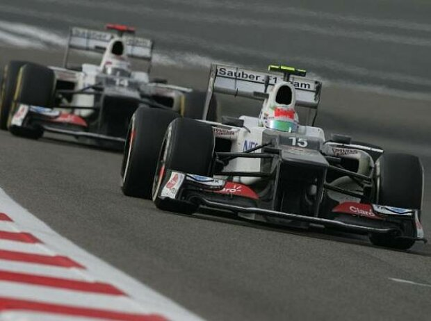 Sergio Perez, Kamui Kobayashi