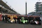 Ryan Briscoe (Penske), James Hinchcliffe (Andretti) und Ryan Hunter-Reay (Andretti)