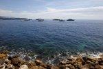 Blick auf die Küste vor Monaco