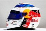 Jean-Eric Vergne (Toro Rosso) mit dem Helm von Jean Alesi
