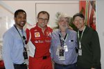 Hollywood meets Formel 1: Cuba Gooding jun., Stefano Domenicali, George Lucas und Ron Howard