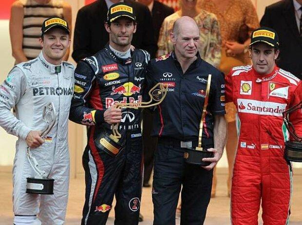 Podium in Monaco