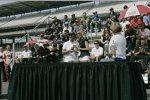 Rubens Barrichello erhält seinen Indy-500-Ring