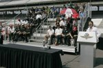 Drivers Meeting in Indianapolis