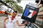 Gridgirl von Jean-Eric Vergne (Toro Rosso)