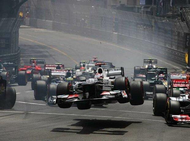 Kamui Kobayashi, Romain Grosjean